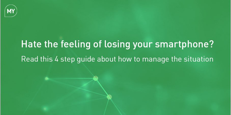 Hate the feeling of losing your smartphone?